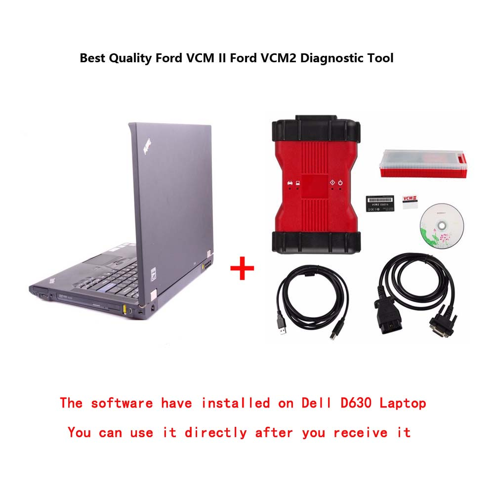 US$388 00 - Best Quality Ford VCM II Ford VCM2 Diagnostic Tool V112