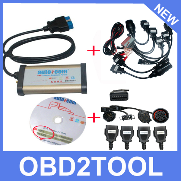 Type Bluetooth Version AUTOCOM CDP Plus Works Together With Cars