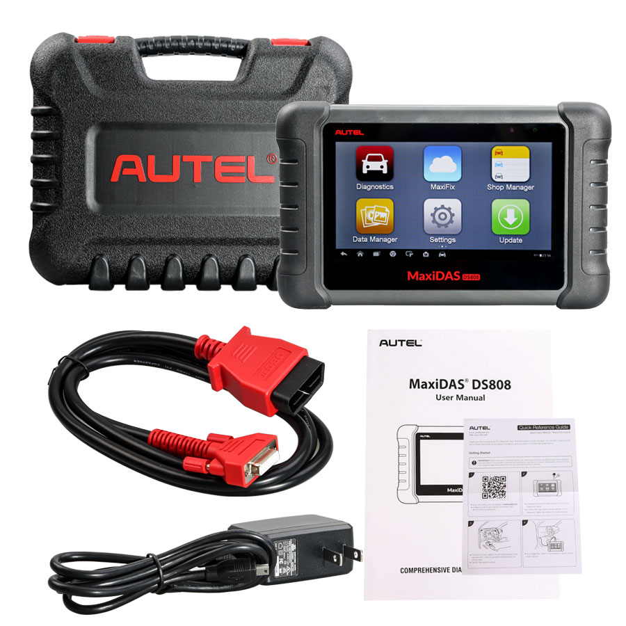 Obd port moreover lexus es obd connector location on car diagnostic - Autel Maxidas Ds808 New 11
