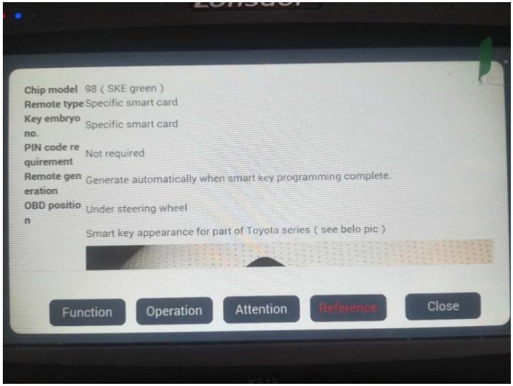 How to use Green SKE-LT Smart Key Emulator for Lonsdor