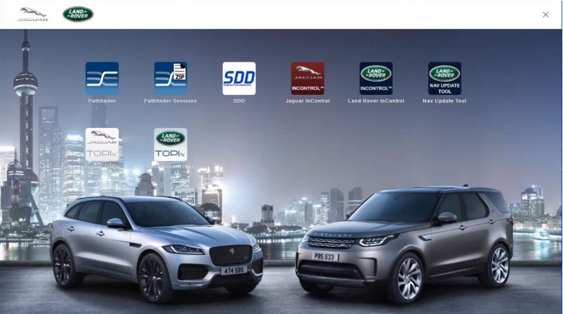 Jaguar and Land Rover Diagnostic Tool support Pathfinder and