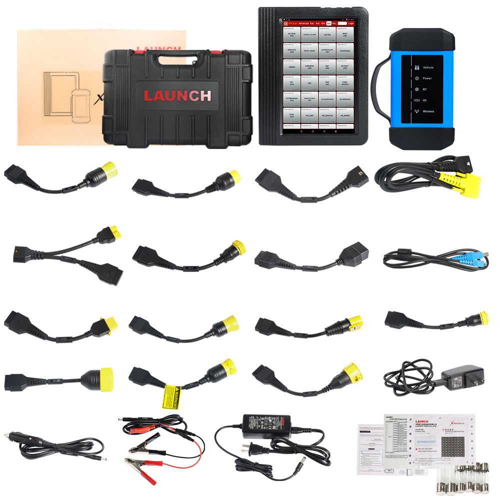 Launch X431 V+ HD3 WifiBluetooth Heavy Duty Truck Diagnostic Tool-1