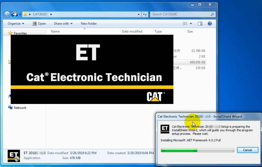 2019A Cat Caterpillar ET Cat ET 3 Software-3