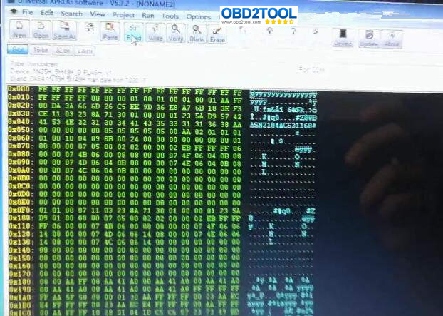 XPROG-M-Programmer-Read-BMW-CAS4-5M48H-9