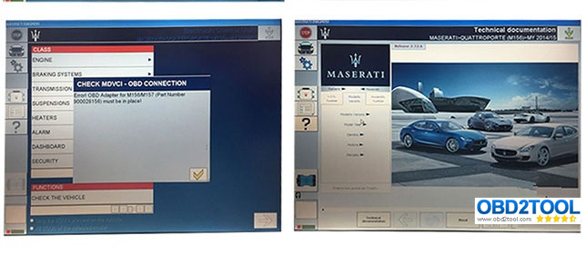 Maserati Mdvci Diagnostic Tool Supports Diagnosis Matching Programming With Maintenance Data