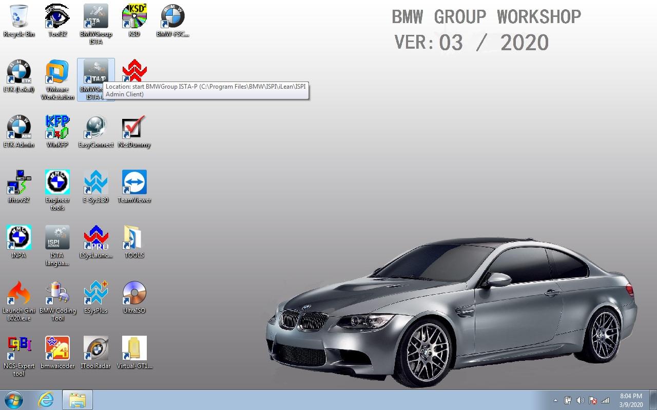 Bmw Icom Software Updata To V2020 03 Version  U2013 The Blog Of
