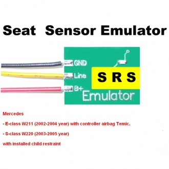 Seat Sensor Emulator for Mercedes SRS1