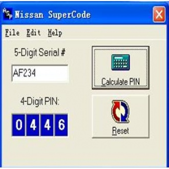NISSAN SUPERCODE Software Send by Email