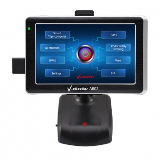 V-checker Smart Trip Computer A602-Trip Computer+GPS+TPMS -Optional
