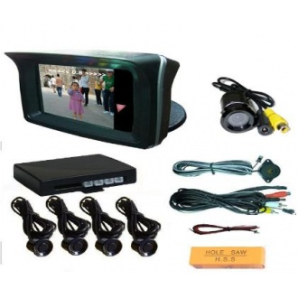 "Video Parking Sensor With Camera and 2.3"" TFT Monitor"