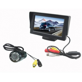 "Video Parking System-Camera and 4.3"" TFT Monitor"