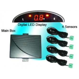 Mini-LED Display  Parking Sensor