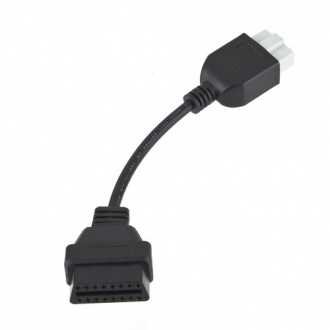 Honda 5Pin Connector to OBD OBD2 16 Pin Diagnostic Adapter Cable.