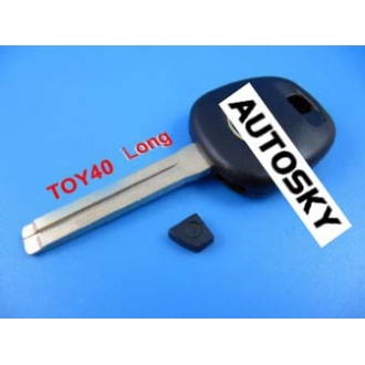 lexus transponder key shell TOY40