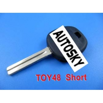 Lexus transponder key ID4D68 TOY48 (short)
