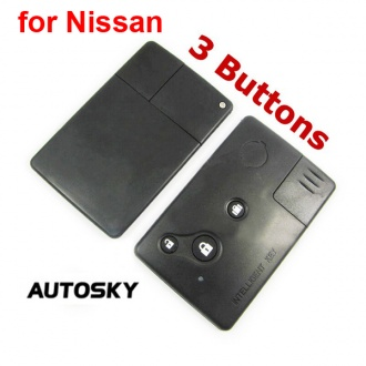 Nissan Teana smart key shell 3 button
