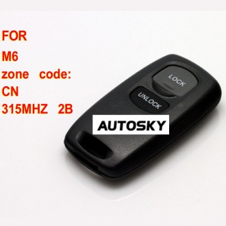 Mazda M6 remote key 2 button 315MHZ