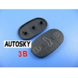 plastic button for Audi remote 3 button
