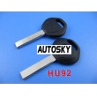 BMW transponder key shell 2 track