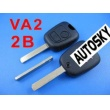 citroen remote key 2 button434MHZ ( without groove...