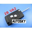 citroen remote key shell 2 button ( 307 without gr...