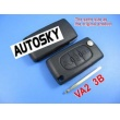 citroen remote key shell 3 button (without groove)