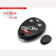 Buick remote shell 6 button