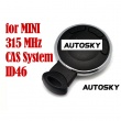 MINI smart key CAS System ID46 315MHZ