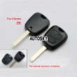 citroen remote key shell 2 button VA2 (without logo)
