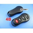 Chrysler remote shell 4 button