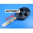 Subaru remote key shell (3+1)button