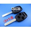 honda remote key shell 3+1 button
