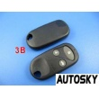 honda accord remote key shell 3 button