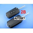 hyundai elantra flip remote key shell 2 button