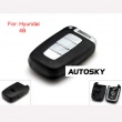 Hyundai smart remote key shell 4 button