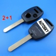 honda remote key shell 2+1 button