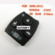 Honda Civic remote 315mhz ID46 3 button (2008-2012)