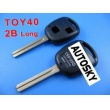 Lexus remote key shell 2 button TOY40(long)