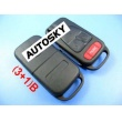 benz remote key shell (3+1) button(new blade)