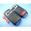 Benz remote key shell (3+1) button(old blade)