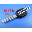 mitsubishi transponder key ID46 (with left keyblade)