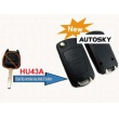 Opel modified filp remote key shell 2 button (HU43)