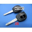 Suzuki remote key shell 2 button