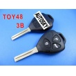 toyota crown remote key shell 3 button