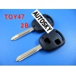 toyota remote key shell 2 button TOY47