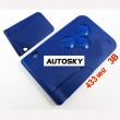 Renault Megane smart key (blue color) 433MHZ