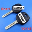 toyota transponder key ID4D68 TOY48