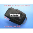 VW 2B Remote 1 JO 959 753 AG 434Mhz For Europe South America