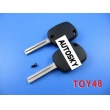 toyota 4D duplicable key toy48 (short) with groove
