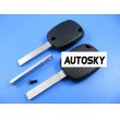 peugeot 307 4D duplicable key without groove